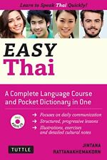 Easy Thai Learn to Speak Thai Quickly Includes Audio CD