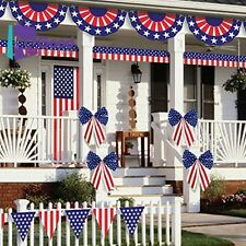 Patriotic 4th Of July Party Ultimate Outdoor Decorating Kit 12 Piece Amscan NEW