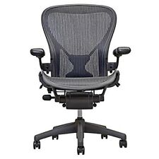 Herman Miller Size B Aeron Chairs Fully Loaded, Adjustable w/ Posture Fit