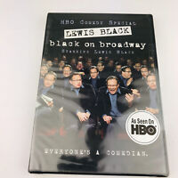 Lewis Black: Black on Broadway (DVD, 2004) Brand New Factory Sealed HBO Comedy