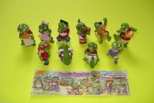 Conjunto completo # Crazy Crocos 1992 # con 1 bpz alemán = top!!!
