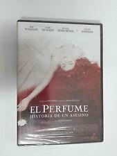 EL PERFUME Historia de un asesino DVD PRECINTADO Nuevo.