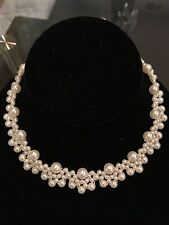 New handmade Faux Pearls Choker Necklace from Korea trendy