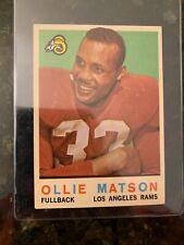 1959 Topps Football #50 OLLIE MATSON..............EX-MT