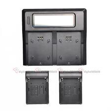 D-LI90 DLI90 Dual Channel LCD Digital Battery Charger For Pentax K-7 K-3 K-5II