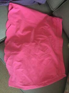 vineyard vines Womans Pink Scallop Golf Skirt Sz 14 scallop pockets