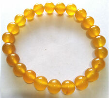 Yellow Jade energy Bracelet 8mm , 100% Good Quality Product.