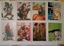 GAETANO LIBERATORE  8 CARTES POSTALES Éditions Aedena 1985