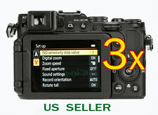 3x Clear LCD Screen Protector Guard Shield Film For Nikon Coolpix P7800 P7700