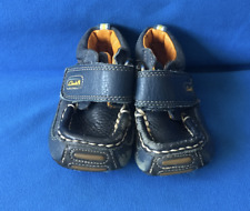 Clarks First Shoes Baby Infant  Boy Child Blue 2.5G