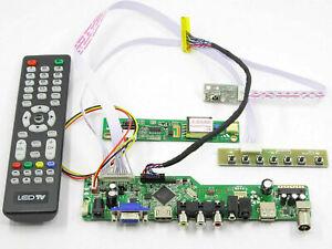 Kit for LTN170X2-L02 TV+HDMI+VGA+USB LCD LED screen Controller Driver Board