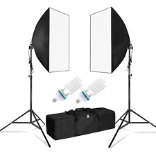"Photography Lighting 20""x 28"" Softbox Reflector Photo Equipment Light Kit"