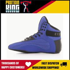 RYDERWEAR DMAKS ROGUE US13 BLUE GYM FLAT MMA POWER WEIGHT LIFTING SHOES D-MAKS