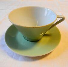 Lilienporzellan - Daisy Dekor - Tasse mit Untertasse - Mint  (O)