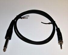 """Sennheiser 1/4"""" Guitar / Instrument Cable for Sennheiser Belt Pack ***NEW**"""