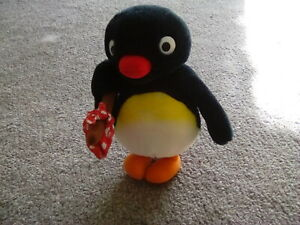 VINTAGE 1991 GOLDEN BEAR PINGU PENGUIN PLUSH SOFT STUFFED ANIMAL TOY RARE