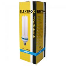 Elektrox Energiesparlampe 200W (Wuchs) ESL Wuchslampe CFL Blütephase Growzelt