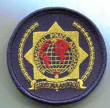 IPA:Brustabzeichen,Gelb maschinengestickt 67 mm 2 Stück
