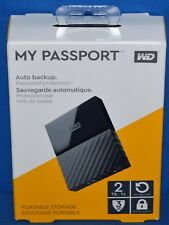 WD 2TB My Passport Portable External Hard Drive - USB 3.0