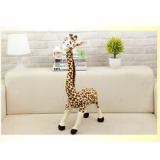 "Cute 36cm 14"" Stuffed Cartoon Giraffe Chic Funny Plush Animal Doll Soft Toy"
