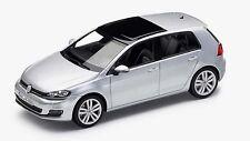 GENUINE VW GOLF MK7 4 DOOR REFLEX SILVER METALLIC 1:43 SCALE DIECAST MODEL CAR