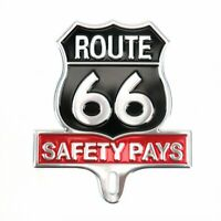 NEW RT 66 LICENSE PLATE TOPPER ! CAR / TRUCK muscle cars rat rods hot rods