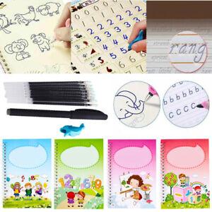 Bücher Buntes magisches Kalligraphie Übungsheft Kinder Handschrift Copybook