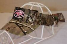 NEW Camouflage Visor Womens Duck Commander Logo RealTree AP Camo Pink Hat Cap