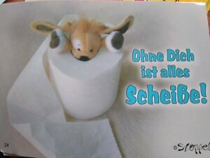 3 Postkarten von STOPPEL Welt - verschieden Motive zu LIEBE & FREUNDSCHAFT
