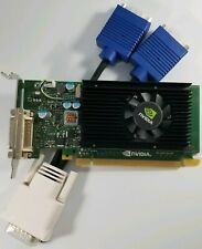 Nvidia Quadro NVS 315 1GB VGA Dual Monitor Windows 10 Video Card SFF Dell HP