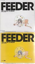 Feeder - Just The Way I'm Feeling - Scarce UK 7 track Enhanced 2 CD single set