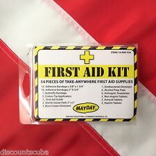 54 piece mini first aid kit emergency tactical disaster survival MAYDAY camping