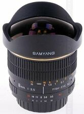 Samyang 8mm f3.5 Aspherical IF MC Fisheye CS Lens - Olympus/Panasonic  Fit Four