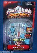 Power Rangers Ninja Storm Blue Wind Ninja Flash Power Ranger New 5 Inch