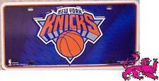 NBA Aluminum License Plate New York Knicks Knickerbockers NEW