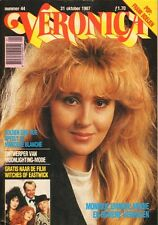 VERONICA 1987 nr. 44 - MONIQUE EMMEN (COVER) / FRANK BOEIJEN / RUE MC CLANAHAN