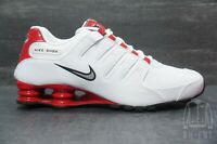 Nike Shox NZ White / University Red 378341-110 Mens 9 Womens 10.5 Running Shoes