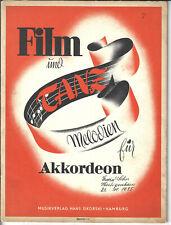 Film und Tanz-Melodien für Akkordeon Heft 17  * Akkordeon Noten