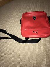 Ferrari X Puma Shoulder Bag Red