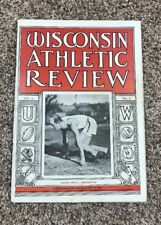 Univ. Of Wisconsin May 1923 Athletic Review Program Track Meet Rare