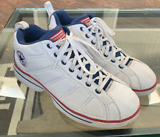Converse 2K4 Leather White Red & Blue Basketball Shoes~14 Mens~