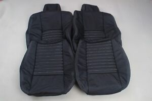 Custom Made 2008-present Dodge Challenger Real leather seat covers Front White