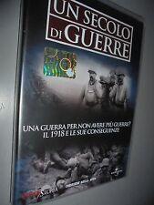 DVD N°7 UN SECOLO DI GUERRE IL 1918 E LE SUE CONOSCENZE