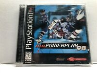 NHL Powerplay 98 (Sony PlayStation 1, 1997) Complete w/ Manual - Tested