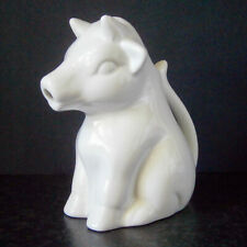 COLLECTABLE MAXWELL WILLIAMS CHINA LARGE WHITE COW CREAMER