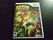Replacement Case (NO GAME) CRASH MIND OVER MUTANT NINTENDO WII