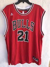 Adidas Jimmy Butler Chicago Bulls Jersey Size Xxl Red