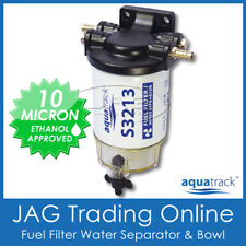 S2313 FUEL FILTER WATER SEPARATOR KIT CLEAR BOWL & DRAIN - Boat/Marine/Outboard