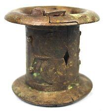 Art African Martial Arts First - Antique Bracelet with Key Bronze Senoufo - 11