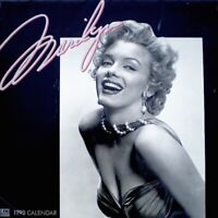 Marilyn Monroe 1990 Pinup Calendar Bruno Bernard Of Hollywood Promo Photo EX/NM